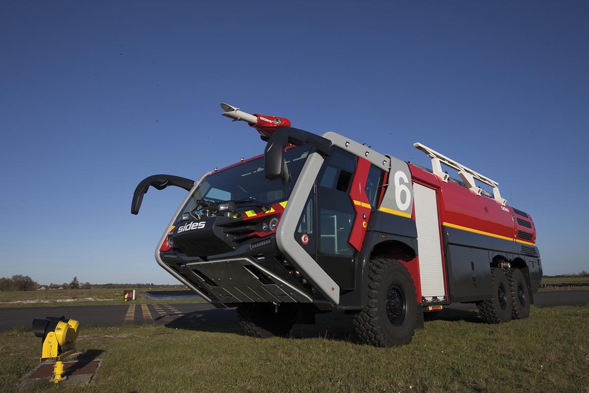 SENTINEL véhicule incendie