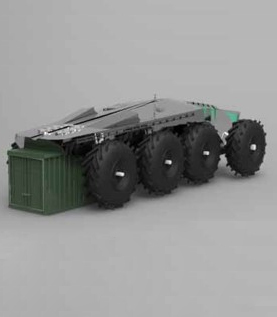 CARGO VEHICLE FOR POLAR EXPLORATIONS